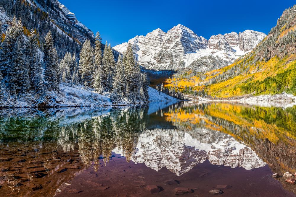 Rocky Mountain National Park maroon bells